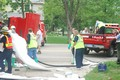 Cleaning up Hazardous Materials Spill